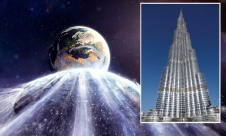 Asteroid, nearly as big as Burj Khalifa, to fly by earth today