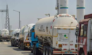 oxygen tankers